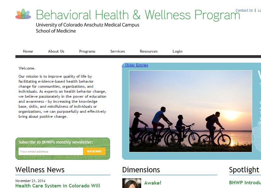 Behavioral Health & Wellness Center - #BHtheChange
