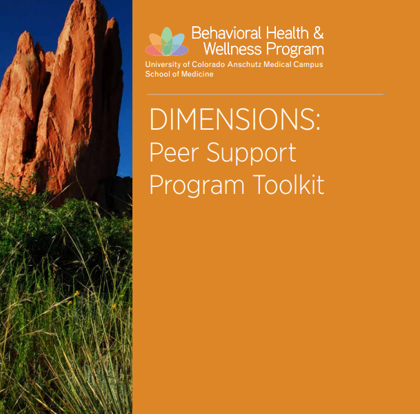 DIMENSIONS: Peer Support Program Toolkit