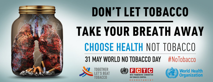 World No Tobacco Day 2019 Twitter Chat